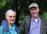 Diane and Paul Miller, Fairvue Farms, 2008.  Photo by Bet Zimmerman.